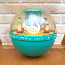 Fisher Price Rolly Poly Chime Bell/フィッシャープライス ローリーポーリー・チャイムベル/171205-2