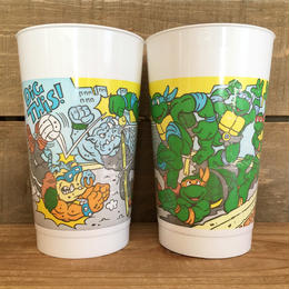 TURTLES Burger King Turtles Novelty Cup/タートルズ バーガーキング タートルズ ノベルティカップ/170118-11