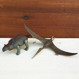 DINOSAUR Quetzalcoatlus & Euoplocephalus Figure/ダイノザウラー ケツァルコアトル&エウオプロケファルス フィギュア/180126-3