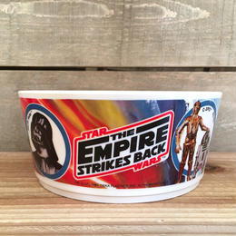 STAR WARS ESB Plastic Cereal Bowl/スターウォーズ 帝国の逆襲 プラスチックシリアルボウル/170118-7