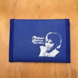 MICHAEL JACKSON Wallet Blue/マイケル・ジャクソン お財布 ブルー/170911-4