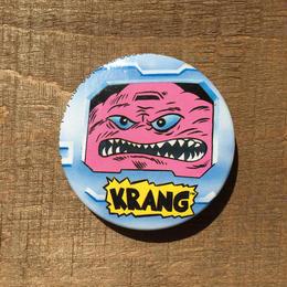 TURTLES Krang Button /タートルズ クランゲ 缶バッジ/170603-9