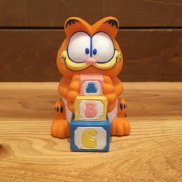GARFIELD Baby Garfield Squeaky Rubber Doll/ガーフィールド ベイビー・ガーフィールド スクアーキー ラバードール/180213-9