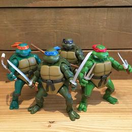 TURTLES Battlaction Turtles Figure 4Pcs Set/タートルズ バトラクション・タートルズ フィギュア4体セット/180518-3