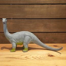 DINOSAUR Brontosaurus Rubber Toy/恐竜 ブロントサウルス ラバートイ/180511-3