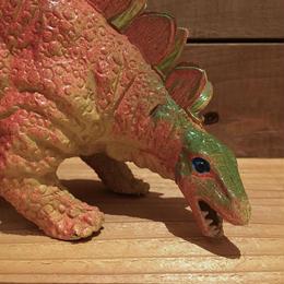 DINOSAUR Stegosaurus Rubber Toy/恐竜 ステゴサウルス ラバートイ/181018-17