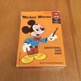 Disney Mickey Mouse Card Game/ディズニー ミッキー・マウス カードゲーム/170730-7