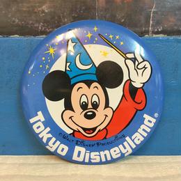 Disney Tokyo Disneyland Button/ディズニー 東京ディズニーランド 缶バッジ/171013-2