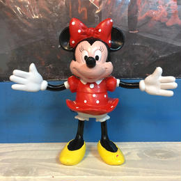 Disney Minnie Mouse Bendable Figure/ディズニー ミニー・マウス ベンダブルフィギュア/171016-4