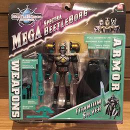 BEETLE BORGS METALLIX Mega Spectra Titanium Silver Figure/ビートルボーグ・メタリックス チタニウム・シルバー フィギュア/18405-6