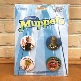 THE MUPPETS Button Pack/ザ・マペッツ 缶バッジセット/170904-3