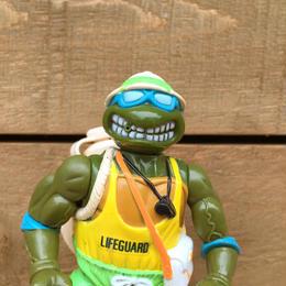 TURTLES Lifeguard Leo/タートルズ ライフガード レオナルド フィギュア/170728-2