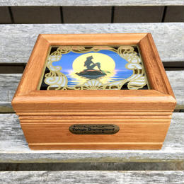 THE LITTLE MERMAID Music Box/リトルマーメイド オルゴール付きジュエリーボックス/180804-2