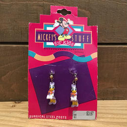Disney Daisy Duck Steel Posts/ディズニー デイジー・ダック ピアス/180723-7