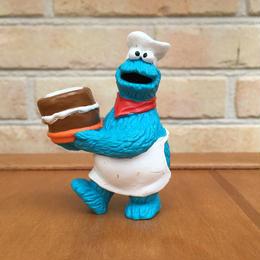 SESAME STREET Cookie Monster PVC Figure/セサミストリート クッキーモンスター PVCフィギュア/170719-7