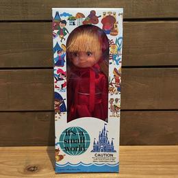 it's a small world France Girl Doll/イッツアスモールワールド フランスの女の子 ドール/180909-6