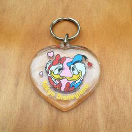 Disney Tokyo Disneyland Key chain/ディズニー 東京ディズニーランド ドナルド&デイジー キーホルダー/171008-5