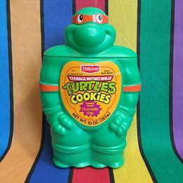 TURTLES Michelangelo Cookie jar Coin Bank/タートルズ ミケランジェロ クッキージャー貯金箱/160711-4