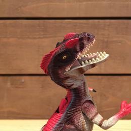 JURASSIC PARKⅢ Re-ak A-tak  Alpha Velociraptor/ジュラシックパーク 3 リアーク・アタック アルファヴェロキラプトル フィギュア/180626-7