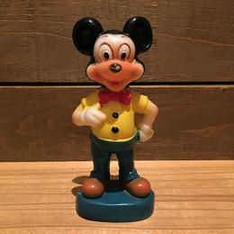 Disney Mickey Mouse Plastic Figure/ディズニー ミッキーマウス プラスチックフィギュア/181005-12