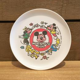 Disney Mickey Mouse Club Mini Plate/ディズニー ミッキーマウスクラブ ミニプレート/180319-4