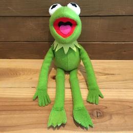 THE MUPPETS Kermit Plush Doll/ザ・マペッツ カーミット ぬいぐるみ/180813-3