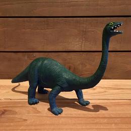 DINOSAUR Brontosaurus Rubber Toy/恐竜 ブロントサウルス ラバートイ/18706-8
