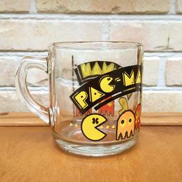 PAC-MAN Glass Mug/パックマン グラスマグ/171006-4