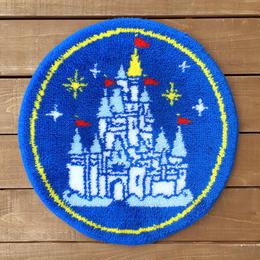 Disney Cinderella Castle Rugs/ディズニー シンデレラ城 ラグ/170609-4
