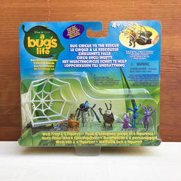 a bug's life Adventure Under the Bug Top Figure Set/バグズ・ライフ アドベンチャー・アンダー・ザ・バグトップ フィギュアセット/171219-2