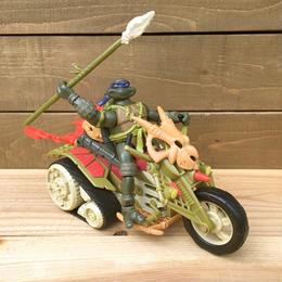 TURTLES Dino Bike & Don Figure/タートルズ ダイノバイク&ドナテロ フィギュア/170827-14