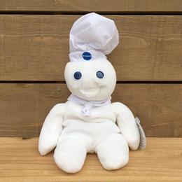 Pillsbury Doughboy Beanbag/ピルスベリー ドゥボーイ ぬいぐるみ/170612-12
