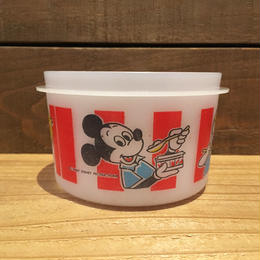 Disney Mickey Mouse Plastic Container/ディズニー ミッキー・マウス プラスチック容器/180926-2