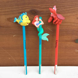 THE LITTLE MERMAID Pencil Set/リトルマーメイド 鉛筆 セット/180204-2