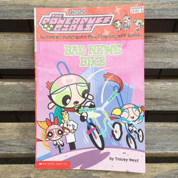 POWERPUFF GIRLS Picture Story Book/パワーパフガールズ 絵本/180416-6
