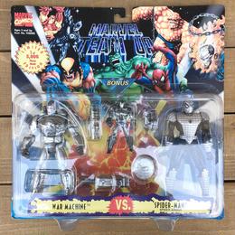 MARVEL TEAM UP Spider-man VS War Machine/マーベルチームアップ スパイダーマン VS ウォーマシン フィギュア/170529-11