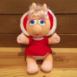 THE MUPPETS Baby Miss Piggy Plush Doll/ザ・マペッツ ベイビー・ミスピギー ぬいぐるみ/180215-2