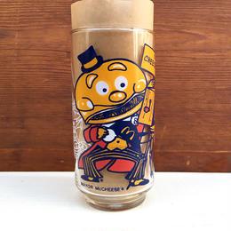 McDonald's Mayor Mccheese  Action Series Glass/マクドナルド メイヤー・マックチーズ アクションシリーズ グラス/180112-6