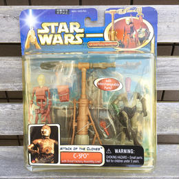 STAR WARS C-3PO With Droid Factory Figure/スターウォーズ C-3PO とドロイドファクトリー フィギュア/180420-2