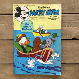 Disney Mickey Mouse No.22 Comic/ディズニー ミッキー・マウス No.22 コミック/170419-1