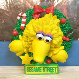 SESAME STREET Big Bird Christmas Wall Light/セサミストリート ビッグバード クリスマスウォールライト/171029-1