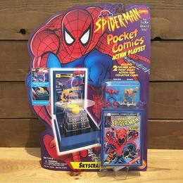 SPIDER-MAN Pocket Comics Skyscraper Set/スパイダーマン ポケットコミックス スカイスクレイパー プレイセット/180728-6