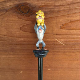 THE LION KING Simba & Rafiki Pencil/ライオンキング シンバとラフィキ 鉛筆/180204-8