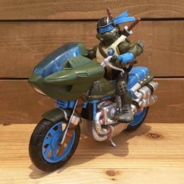 TURTLES Battle Bike Leonardo Figure/タートルズ バトルバイク・レオナルド フィギュア/180328-12