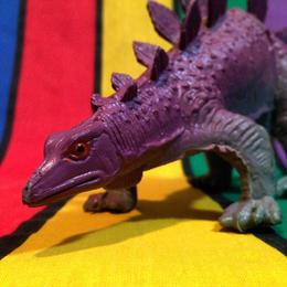 RUBBER DINO Stegosaurus/ラバー恐竜 ステゴサウルス フィギュア/160112-1