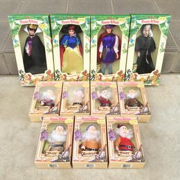 SNOW WHITE Doll 11pcs Set/白雪姫 ドール11体セット/180506-2