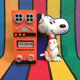 PEANUTS Snoopy Hi-Fi Radio/ピーナッツ スヌーピー Hi-Fiラジオ/1605229-5