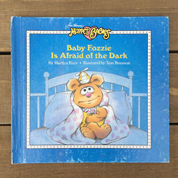THE MUPPETS Baby Fozzie Is Afraid of the Dark/ ザ・マペッツ ベイビー・フォジー 絵本/170524-4
