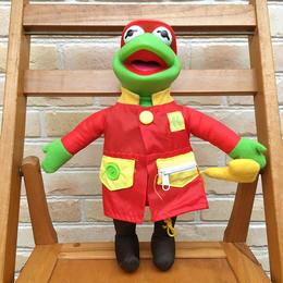 THE MUPPETS Learn-To-Dress Kermit Plush Doll/ザ・マペッツ レーン・トゥ・ドレス カーミット ぬいぐるみ/171011-5