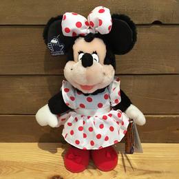Disney Minnie Mouse Plush Doll/ディズニー ミニー・マウス ぬいぐるみ/180728-11